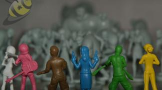 Zombie 15 plastic figures