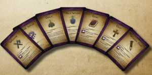 Item cards image taken from the rule book