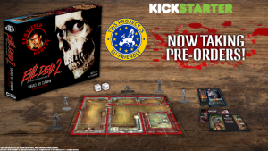 Image from the Evil Dead 2 Kickstarter campaign
